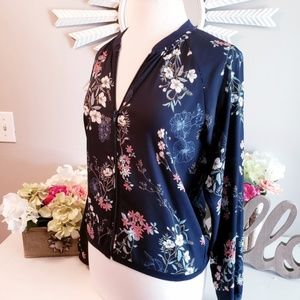 Maurices Sheer Bomber Jacket
